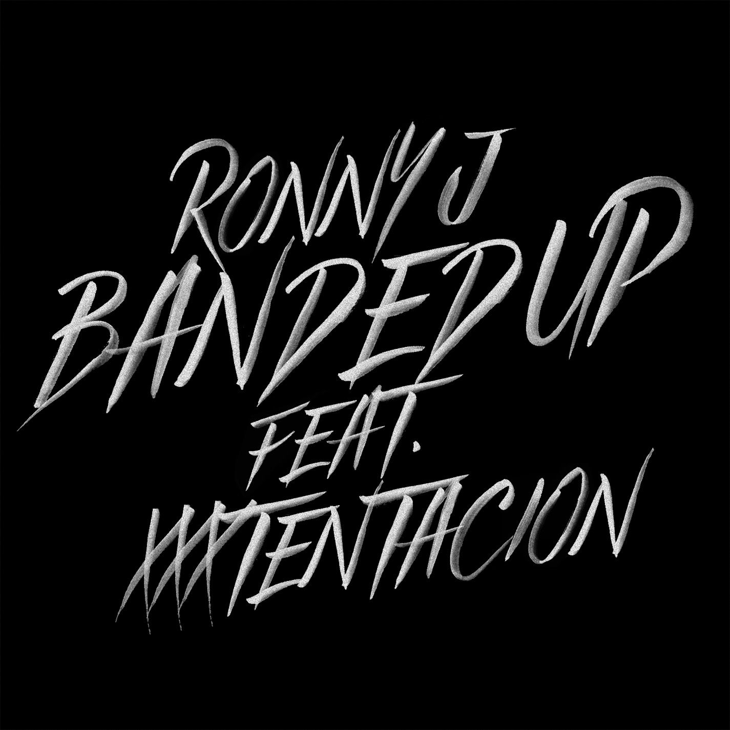 Ronny J - Banded Up single art