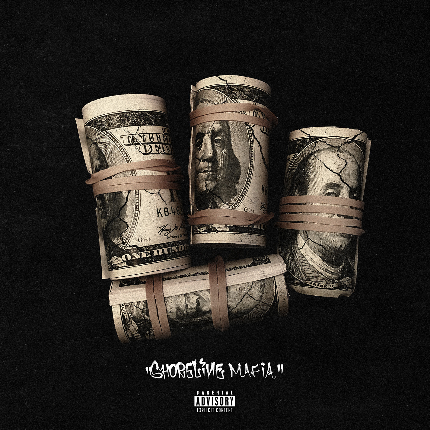 Shoreline Mafia - Banded Up single art