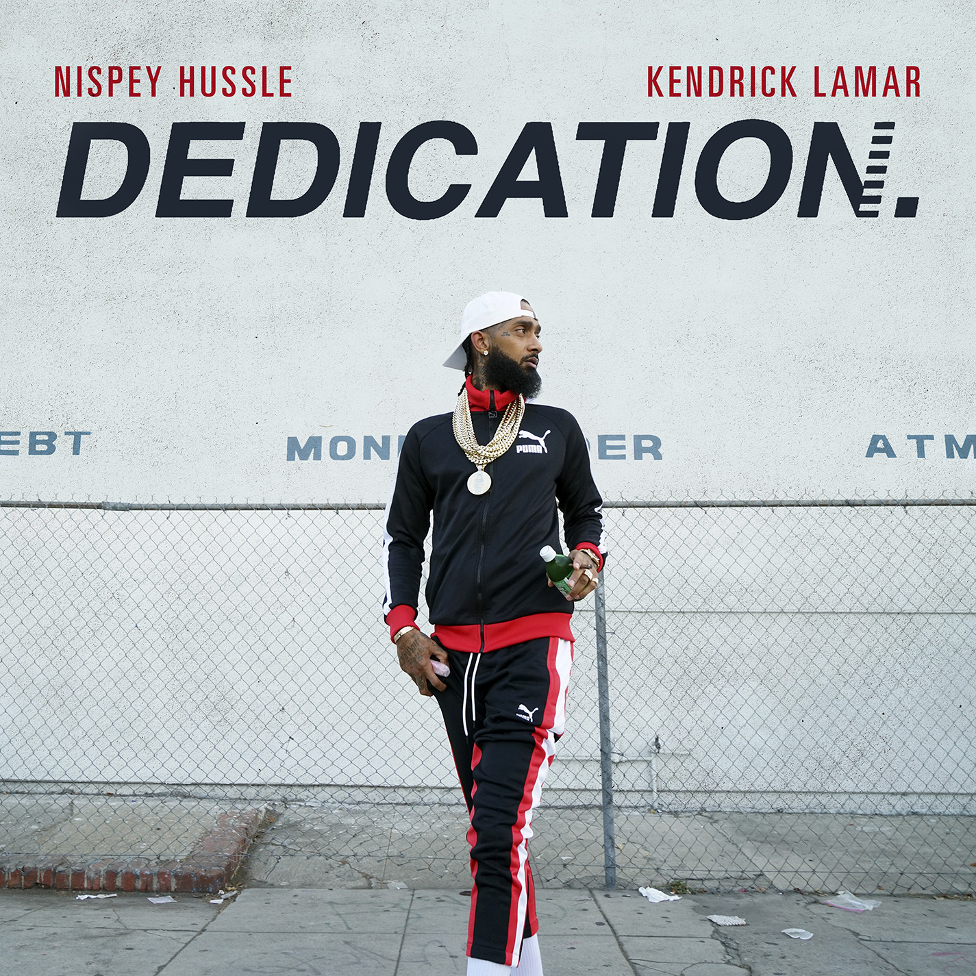 Nipsey Hussle - Dedication single art