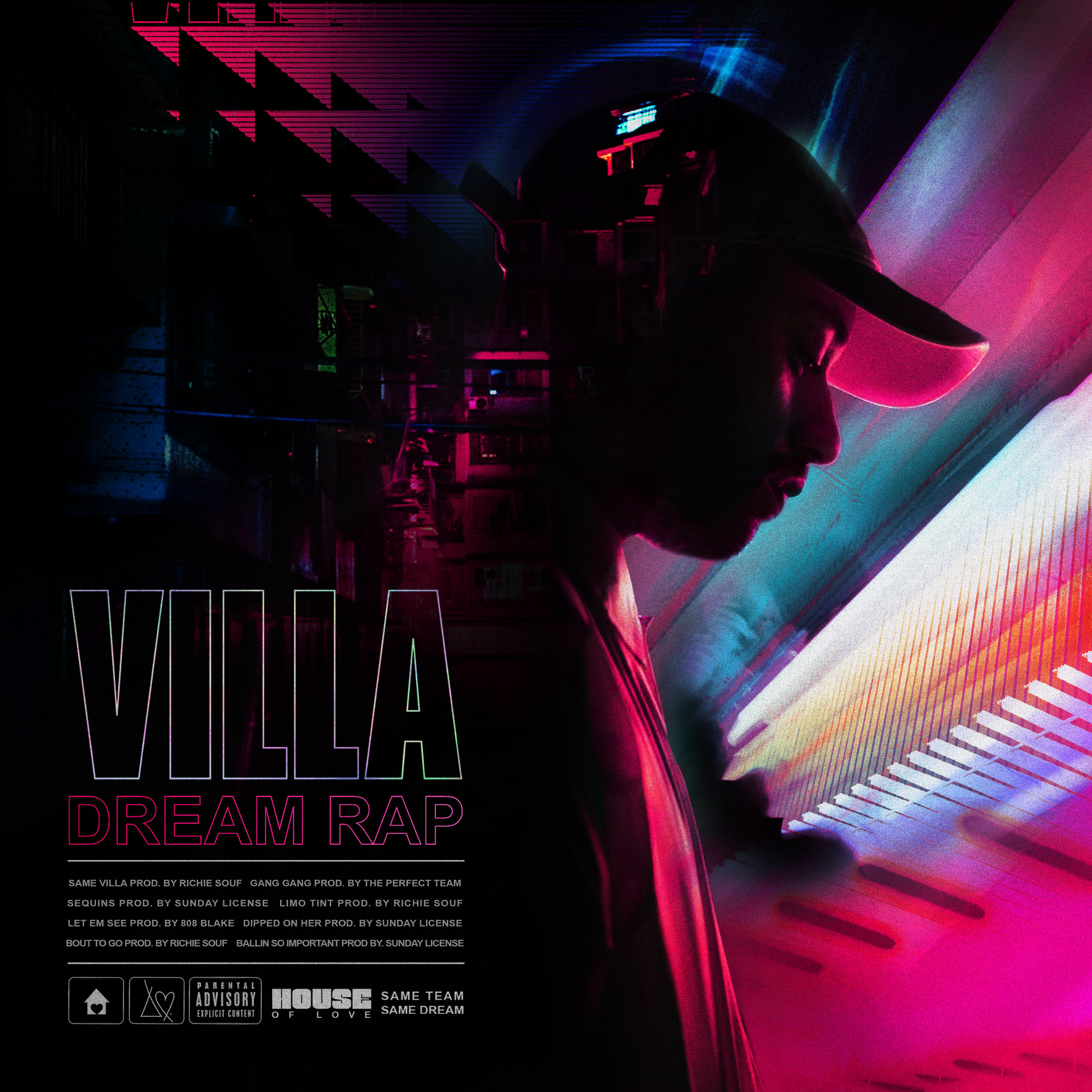 Villa - Dream Rap EP art