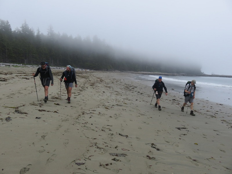 Clients on a guided West Coast Trail trip.JPG