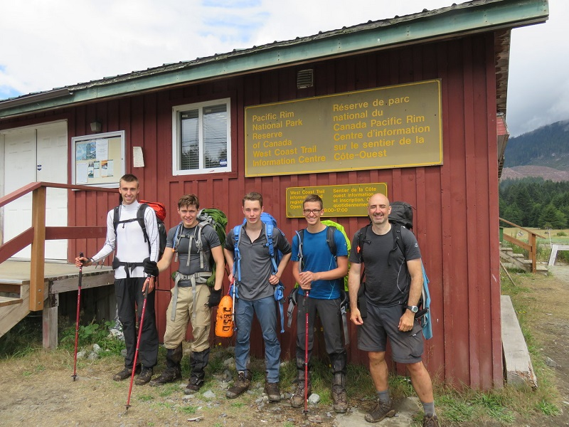 West Coast Trail, guided group finishes.JPG