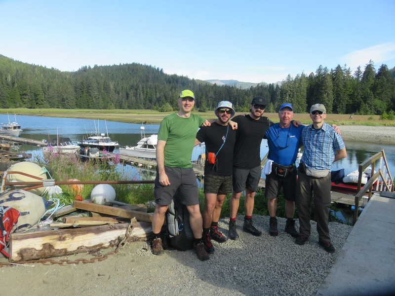 West Coast Trail, guided group starts.JPG
