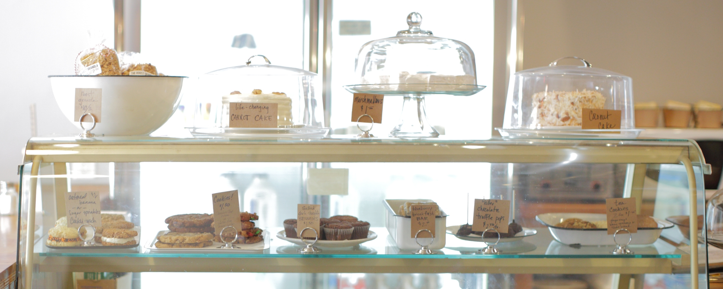Bakery case. Photo: Jane Kortright