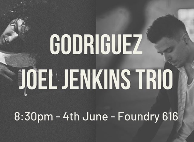 It's on! NEXT TUESDAY @ @foundry616 - double bill with @adventuresofgodriguez  come through! 🖖🏼
