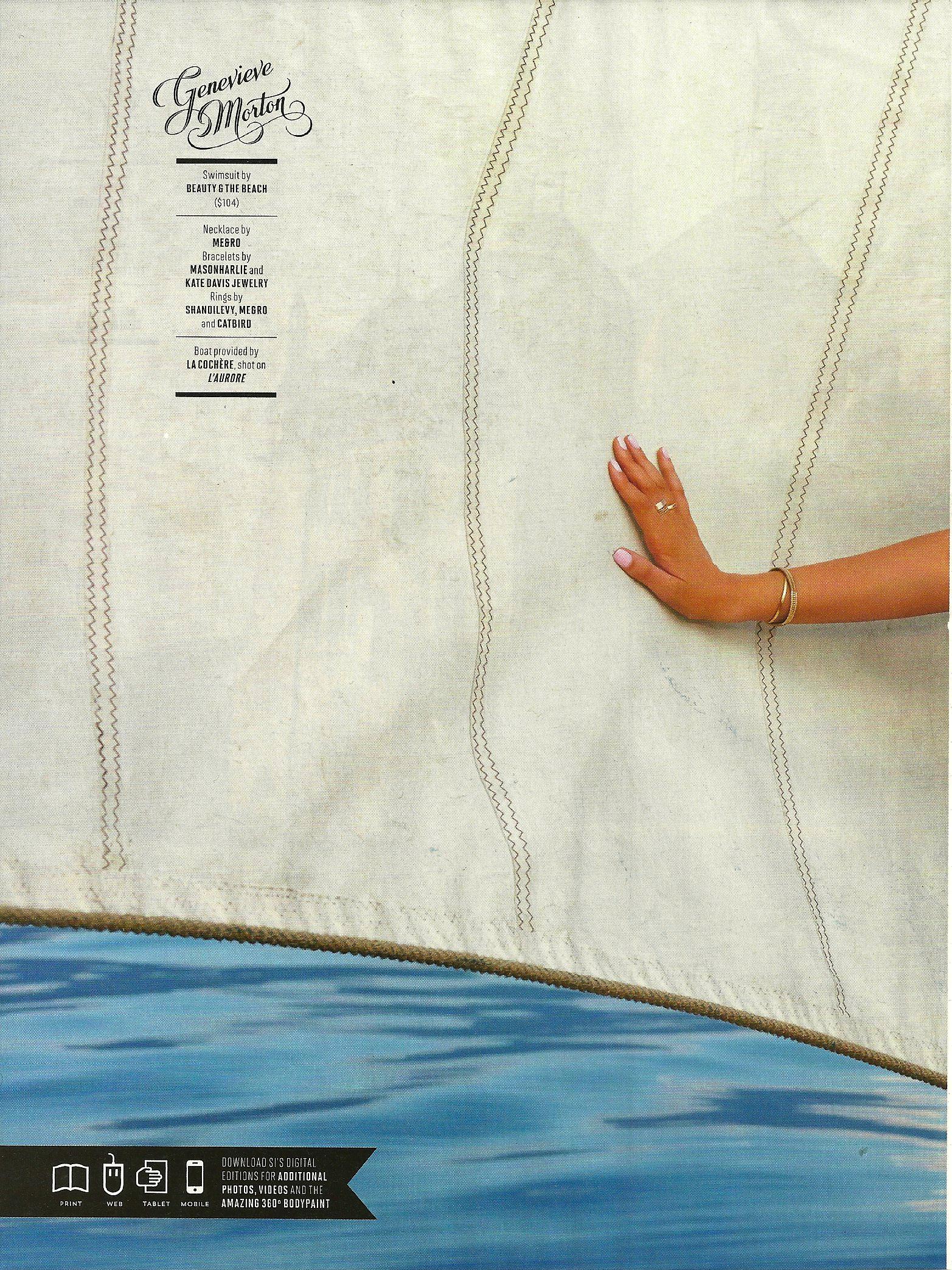 SI Swim 50th Anniversary - Genevieve Morton