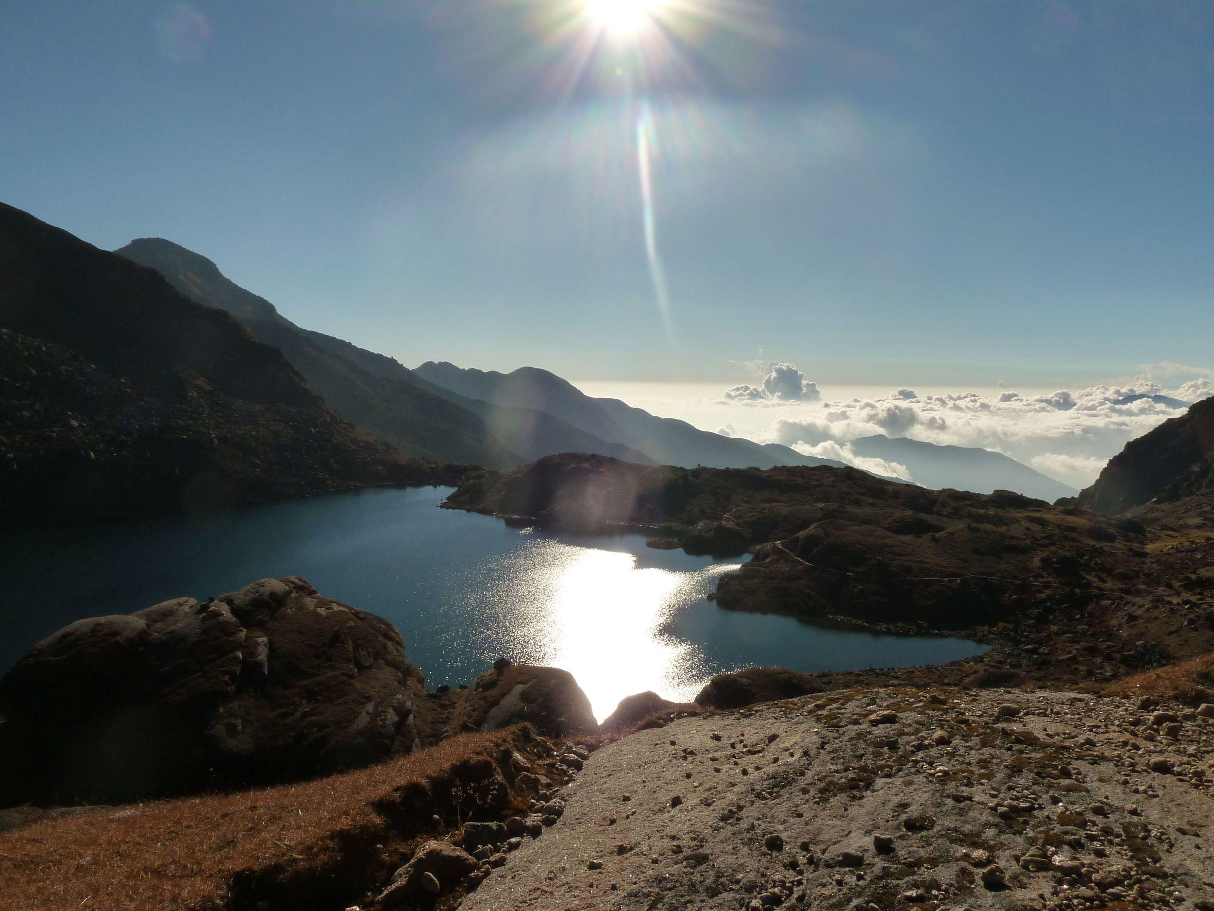Infinity pool of the gods - Gosaikunda lakes