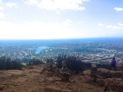 Hiking the Cowles Mountain