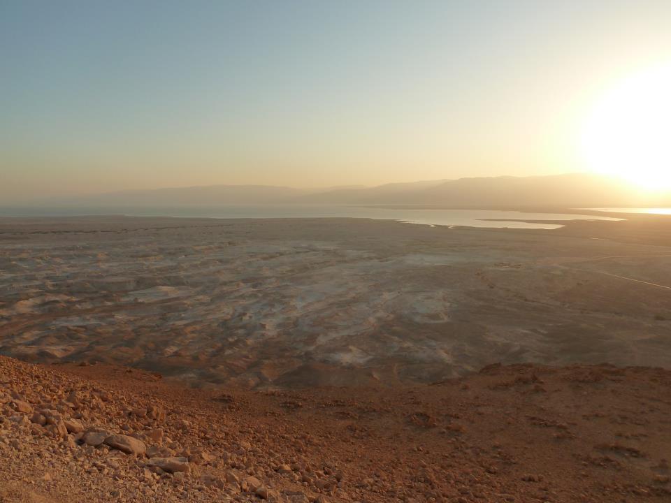 The Dead Sea as seen from Masada