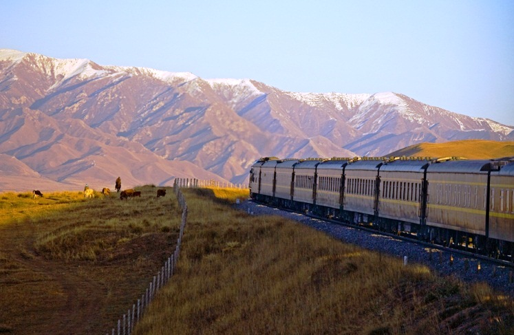 The Trans-Siberian Express — how much work could you get done on a 5,623 mile journey from Russia to China?