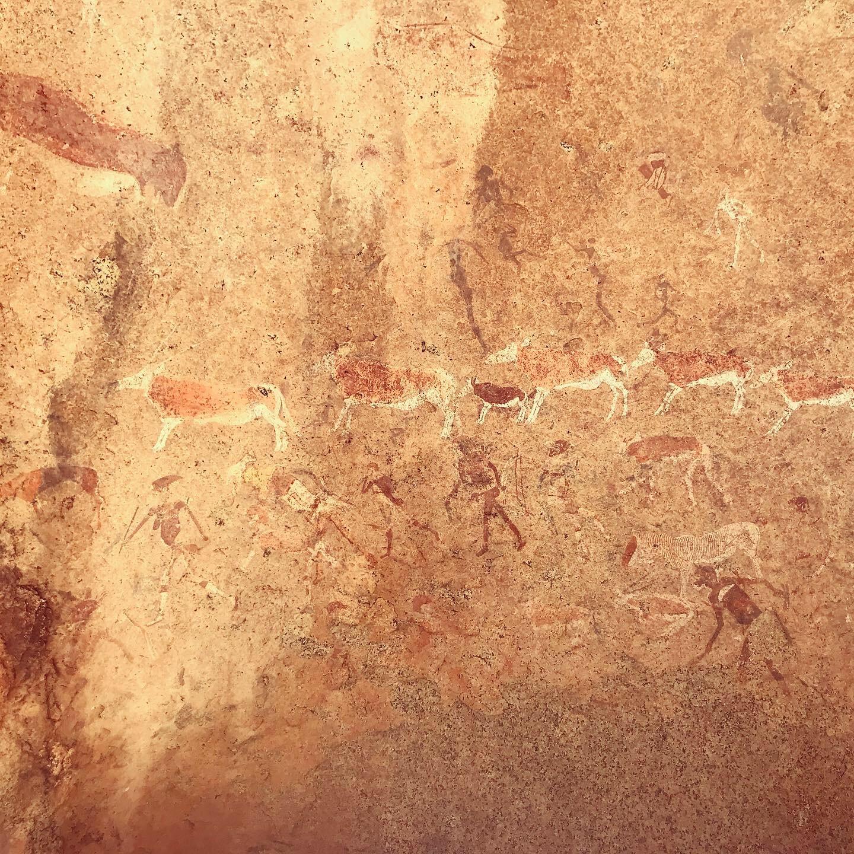 Rock Paintings at Brandberg