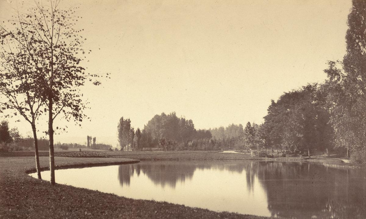 Charles Marville, Bois de Boulogne    1858