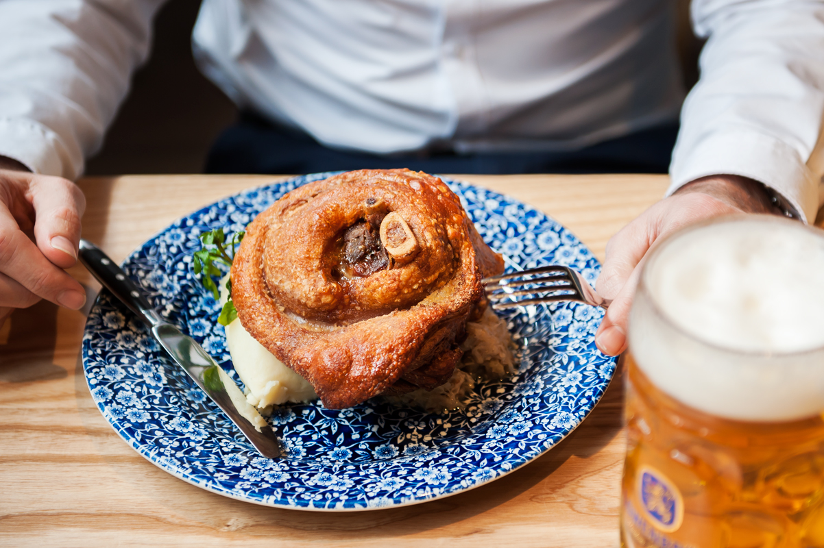 PORK KNUCKLE CHAMPIONSHIPS! - Saturday 16 September, 6pmMAN VERSUS PORK KNUCKLE! Think you have what it takes to set an Oktoberfest record? We're looking for a legend to devour our crispy pork knuckle in the fastest time to take out the title of 'Schweinshaxe Champion 2017'.SIGN UP NOW