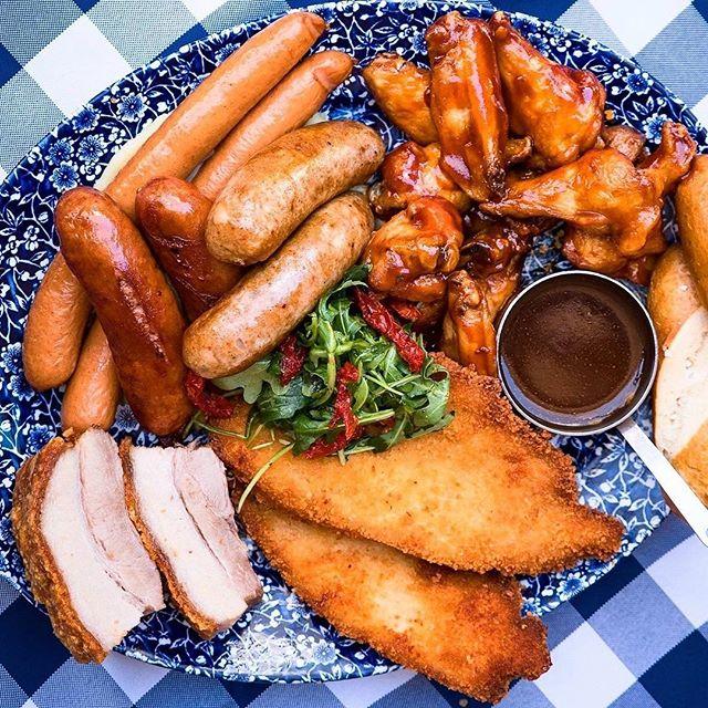 All-you-can-MEAT Wednesday! Every Wednesday after 5pm at The Bavarian! 🤤 . . #germanfood #oktoberfest #oktoberfest2018 #pork #porkknuckle #sausages #beer #bier #bavaria #thebavarian #bavarian #munich #dirndl #lederhosen #oktoberfestinthegardens #pretzel #germanpretzel #munichlager #lowenbrau #spaten #germany #franziskaner #schnitzel #porkbelly #octoberwest #munichbrauhaus #therocks #circularquay #southwharf #southbank