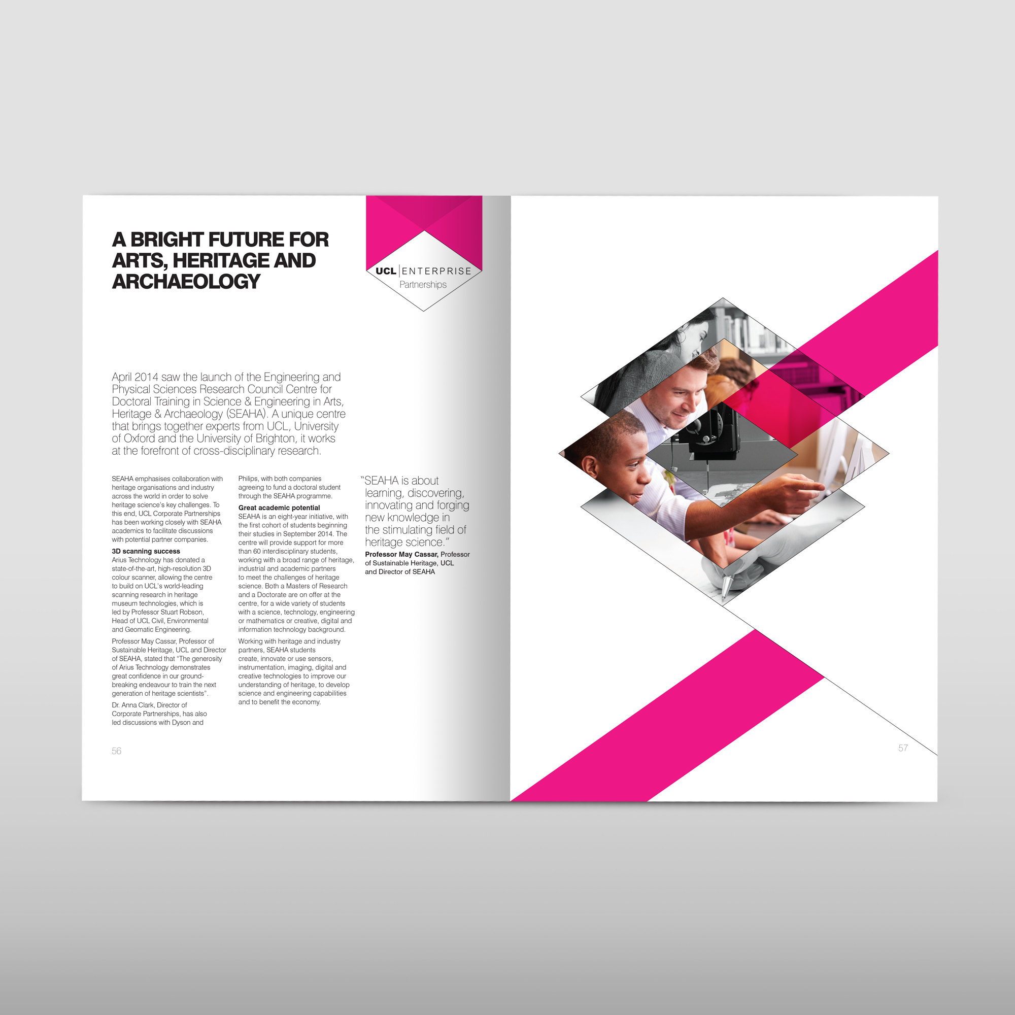 University college London inside annual report design.png