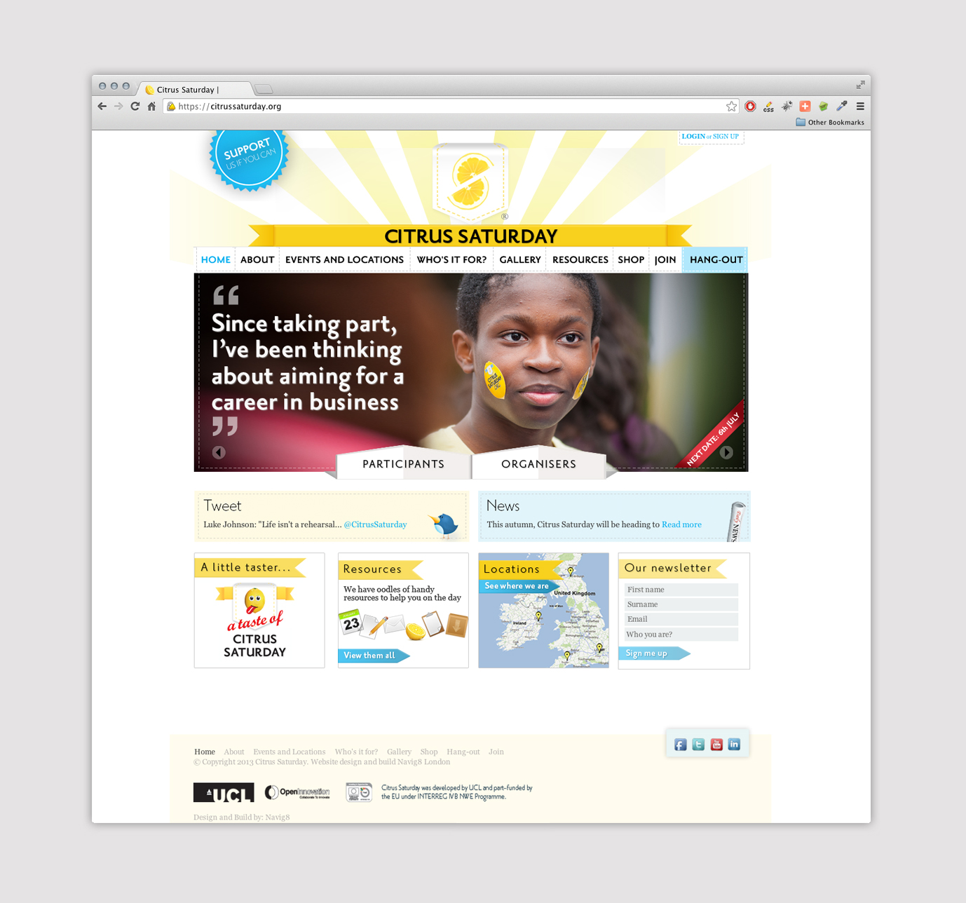 home page web design for charity.jpg