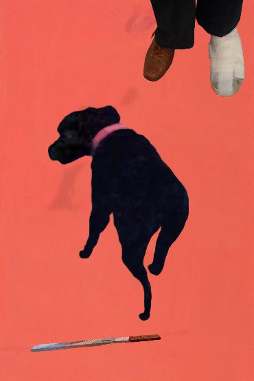 "Mimi/PB 2012, photo collage, inkjet print 6x4"""