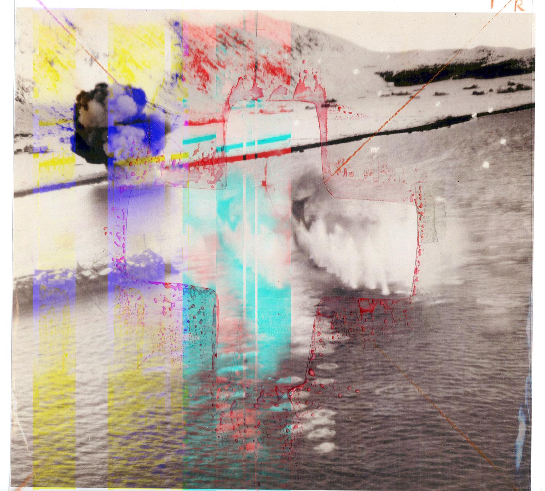 Haram Cross /, 2013, inkjet print 29 x 29 cm & video