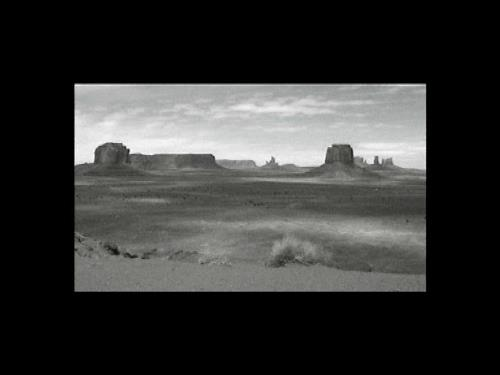 Monument Valley 1999, 3 min video loop 2000/5