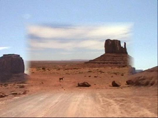 Monument Valley Framed 2000, video 7mins