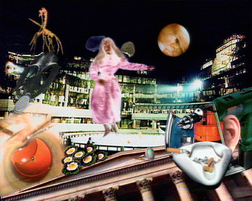 The Garden of Earthly Delights 1991, 3 channel video, 3min loops,  first shown Bluecoat Gallery, Liverpool, then Whitechapel Gallery, Tate Britain, Bloomberg Space London