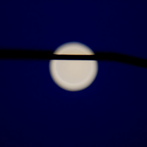 Hung moon 1, 2013, archival inkjet, 50 x50 cm