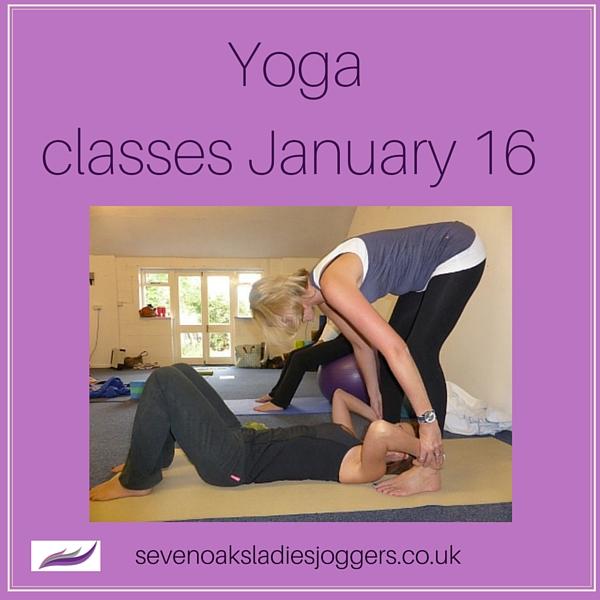 Sevenoaks Ladies Joggers Yoga classes
