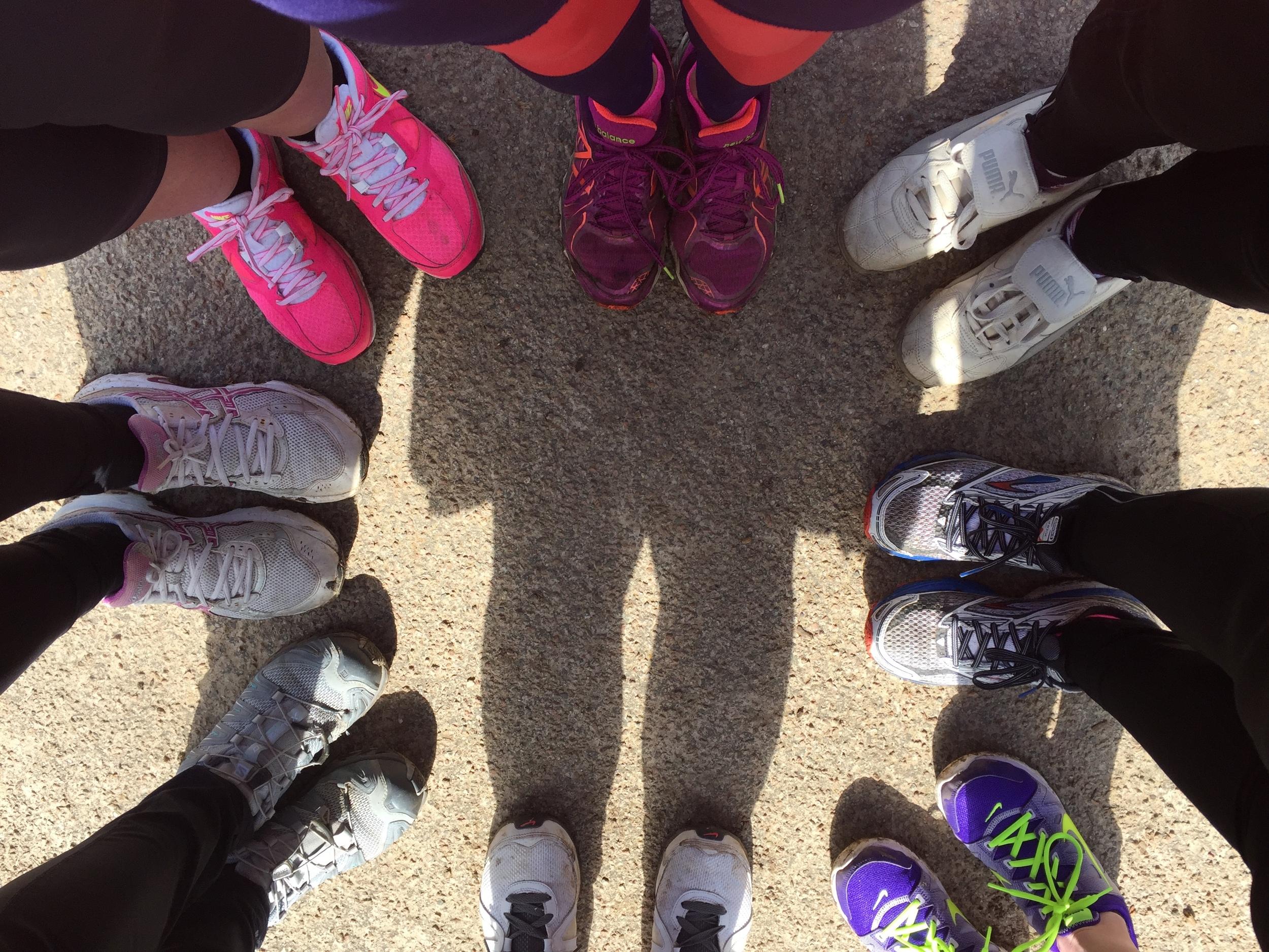 Small groups at Sevenoaks Ladies Joggers