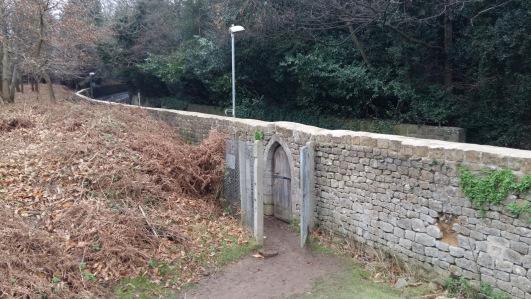Knole Park entrance