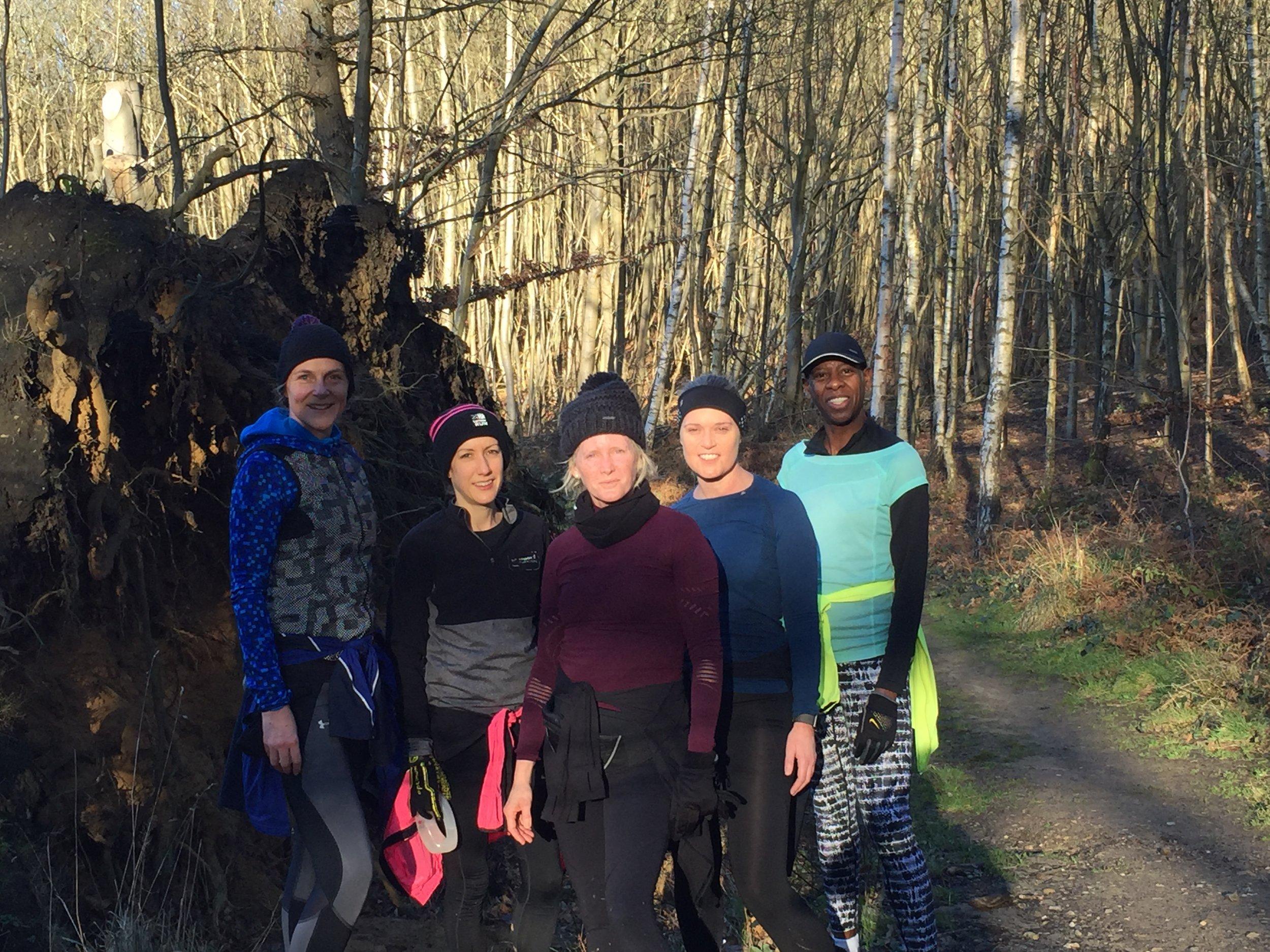 SLJ Trail runs