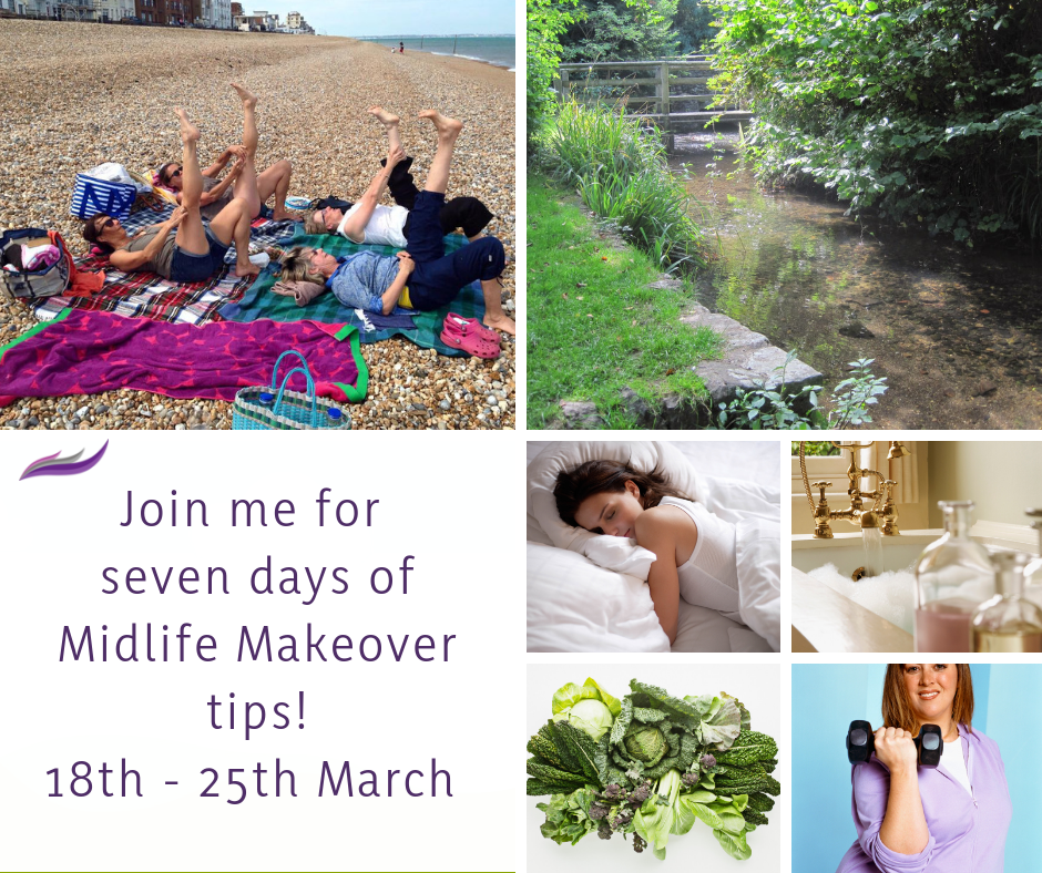 Midlife Makeover - FREE Challenges