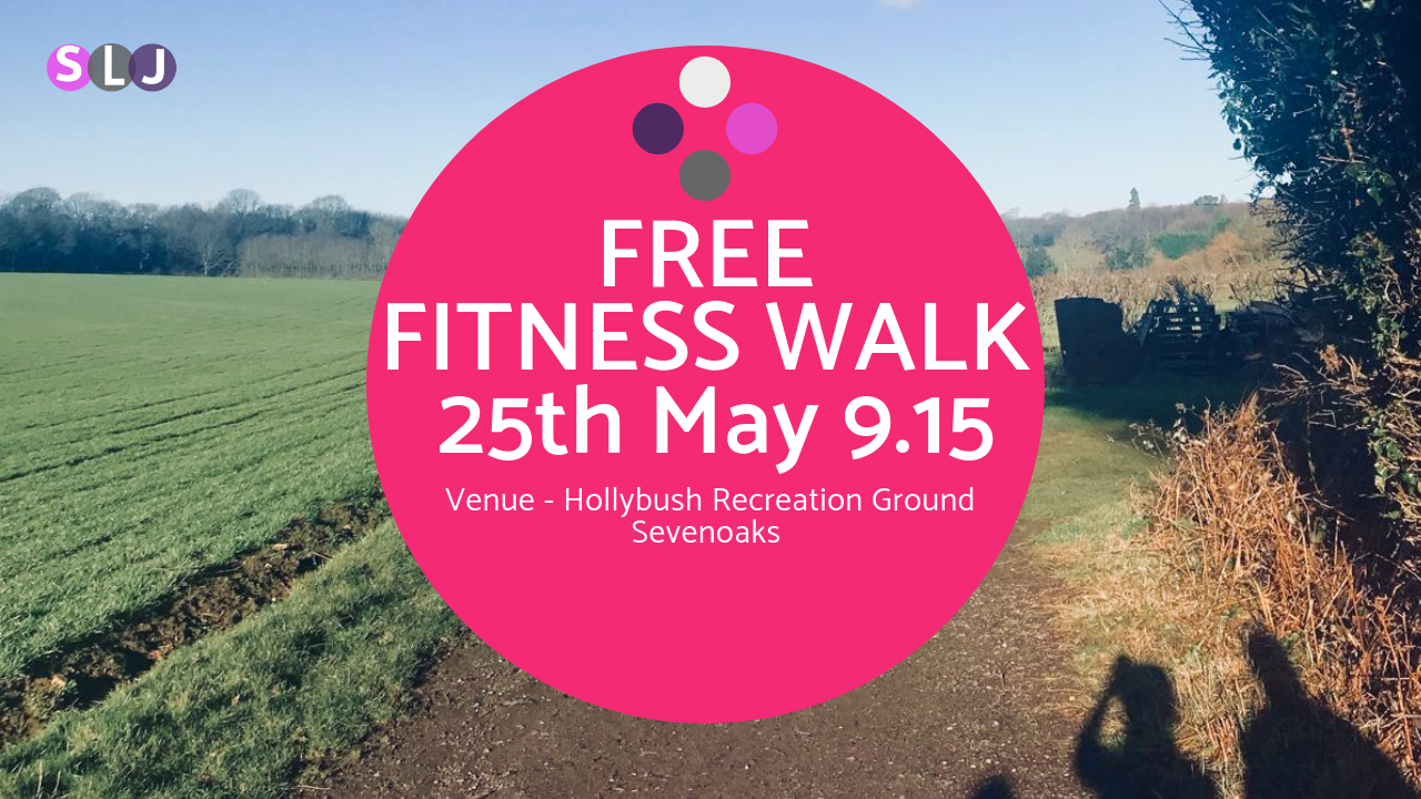 fitness walking sevenoaks