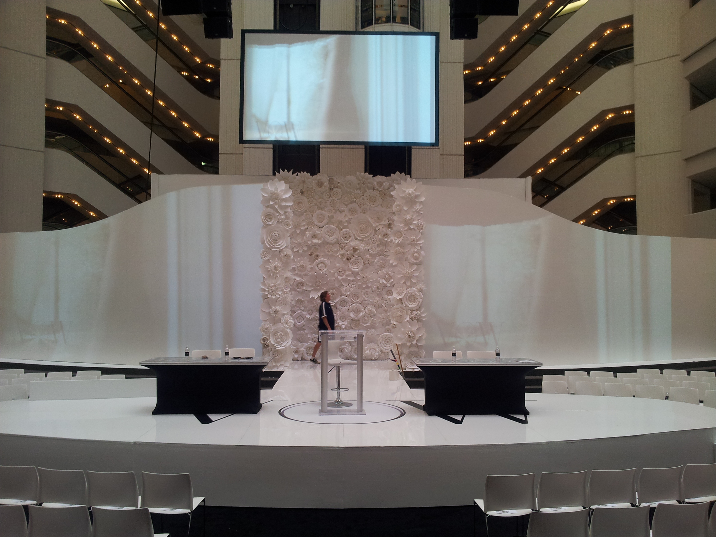 Magnificent Stage Before Fashion Show