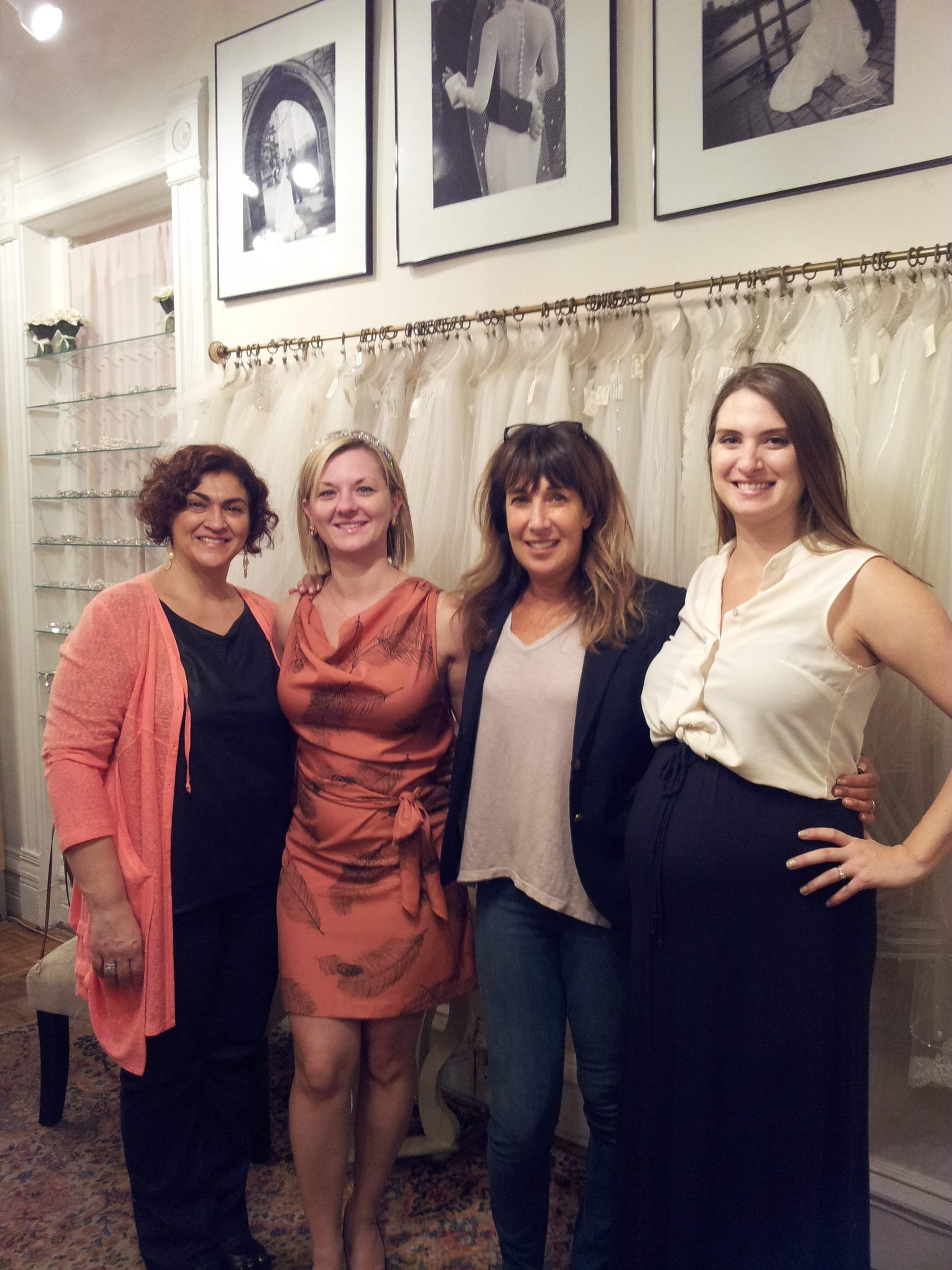 Angie, Suzie, Elen, and Caitlin