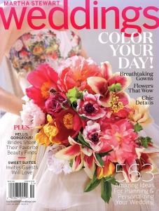 Martha Stewart Weddings - Spring 2015