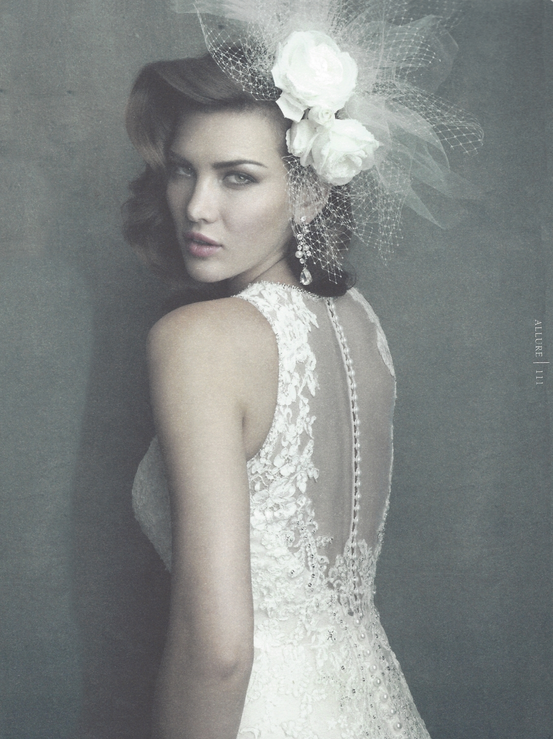 Headpiece and Earrinfgs by Malis-Henderson