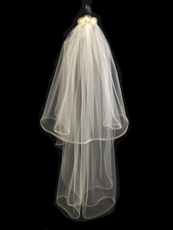 V5678-DI _ 35-60x108 Mohair Edged Veil