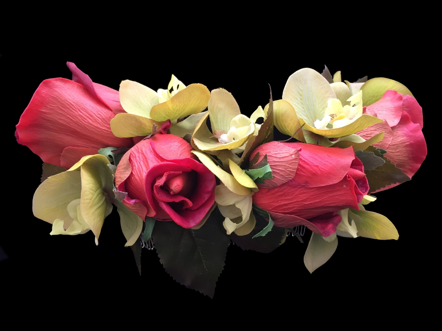 """Style 7926-DI - 17"""" across - """"True Touch Flowers"""""""
