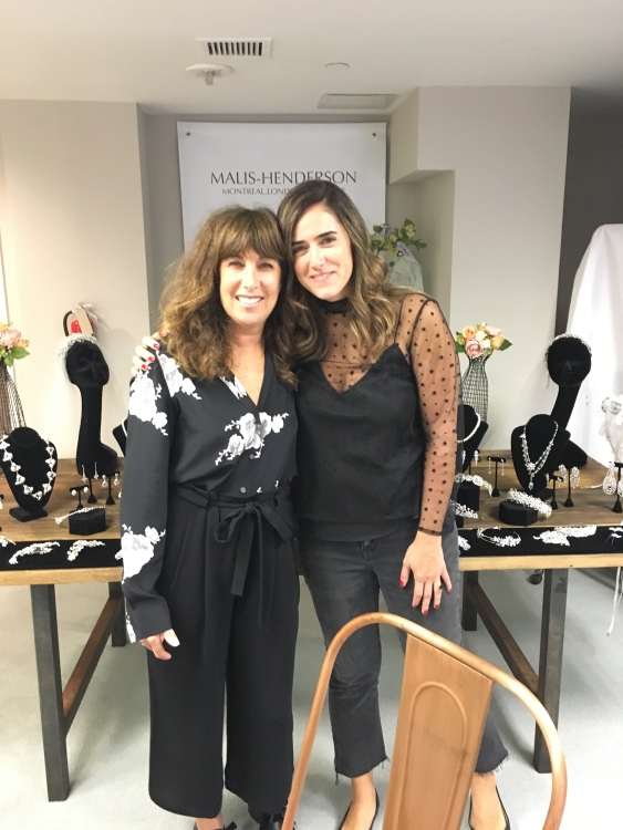 It's such a pleasure to see Joelle each year in New York. Joelle comes all the way from Lebanon's (the country, not Lebanon NH :-) ) renowned  L'Atelier Blanc  in Beirut.