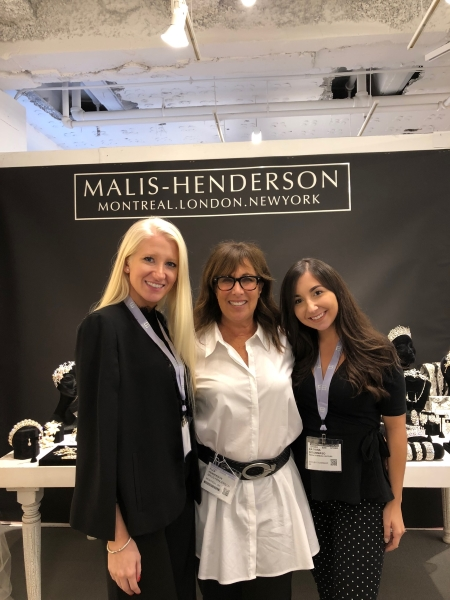From  Piera's Bridal  in Shelby Township Michigan we have Piera on the left and Katrina (right) posing with Elen. Always a pleasure to see them in Chicago.