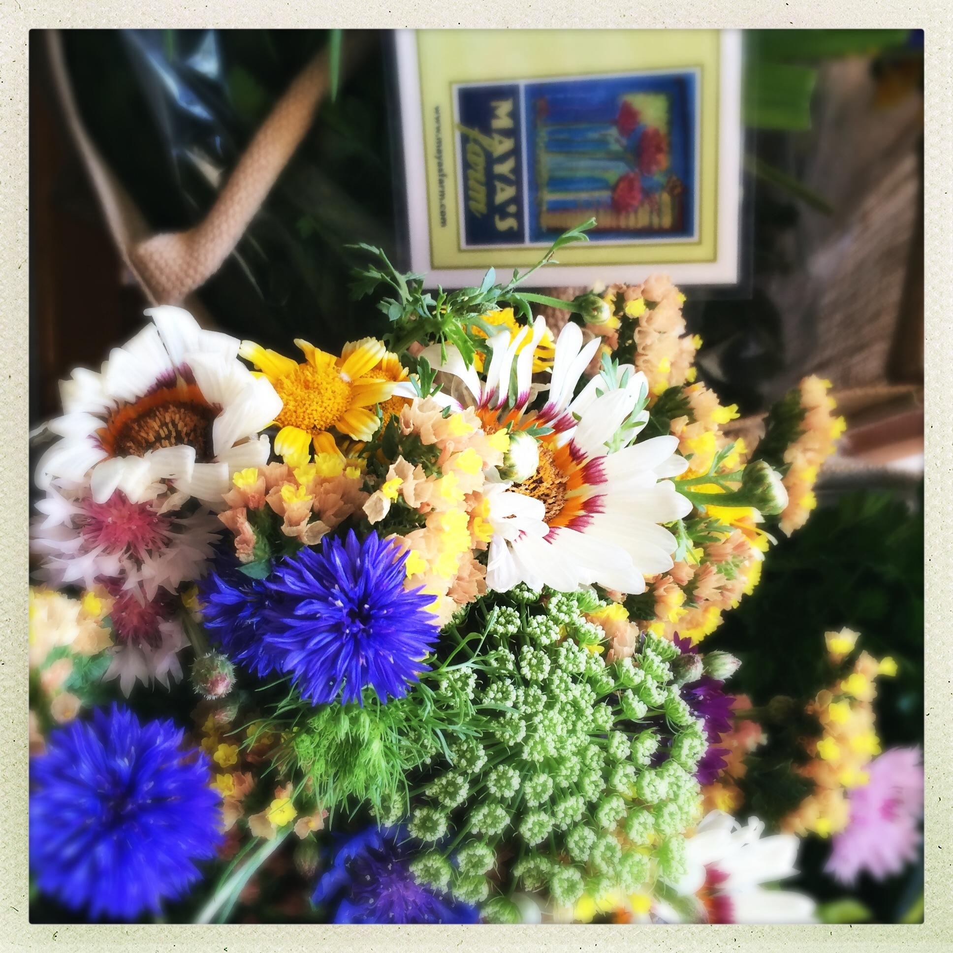 flowers from Mayas Farm.JPG