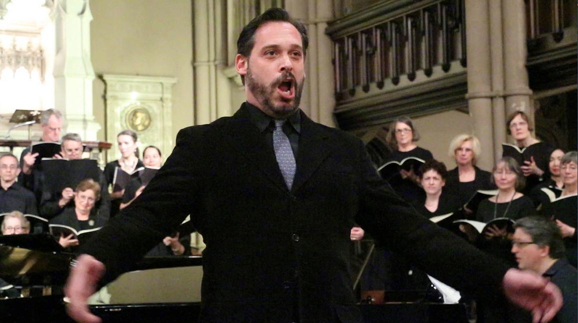 Baritone Soloist Peter Clark