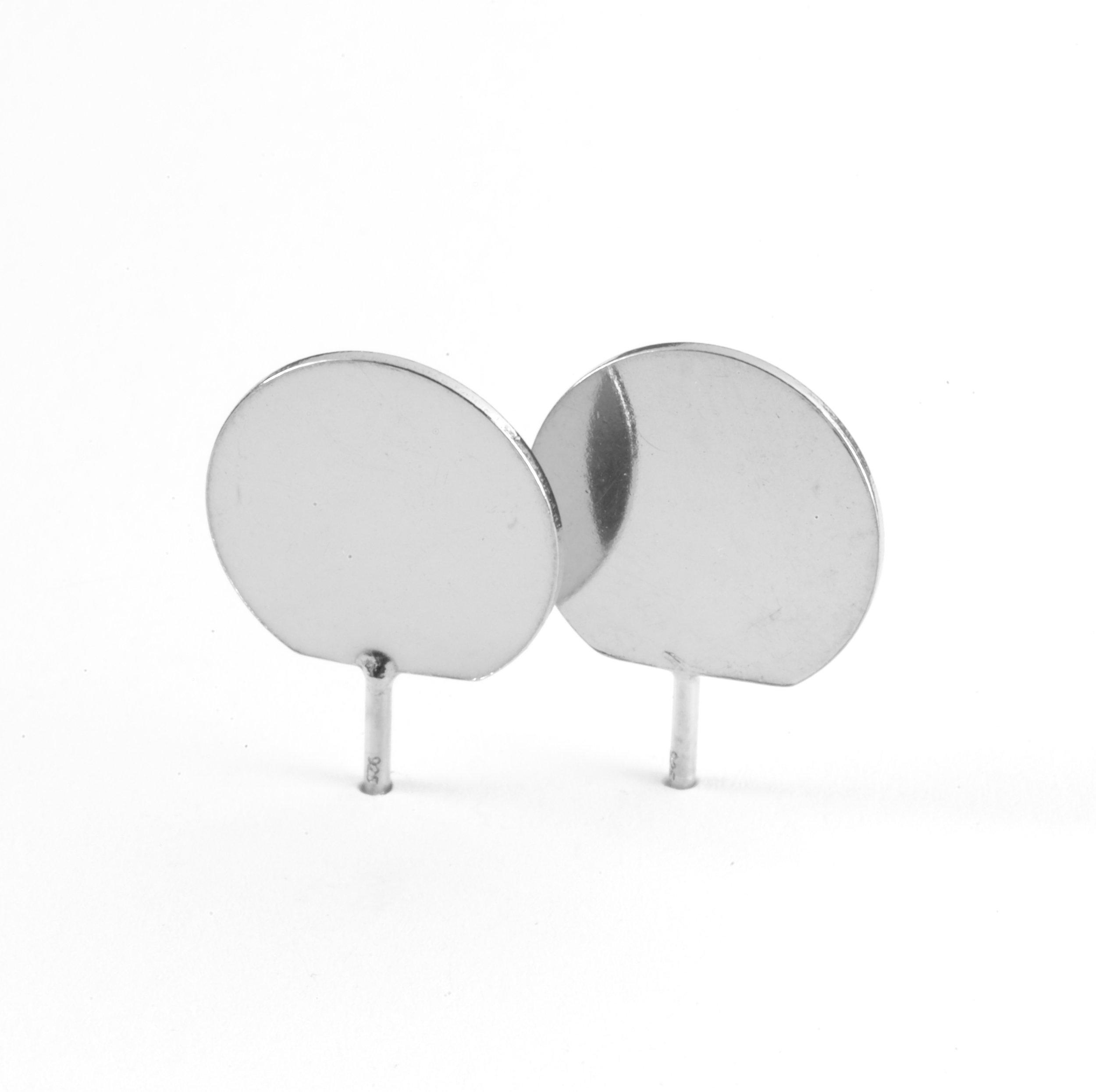 3D Dot 2 Ear Studs