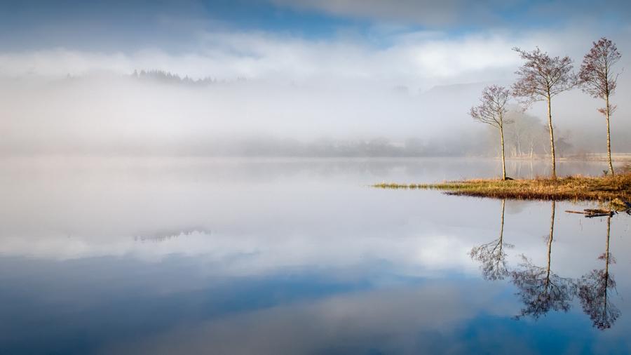 Looking South across Loch Ard