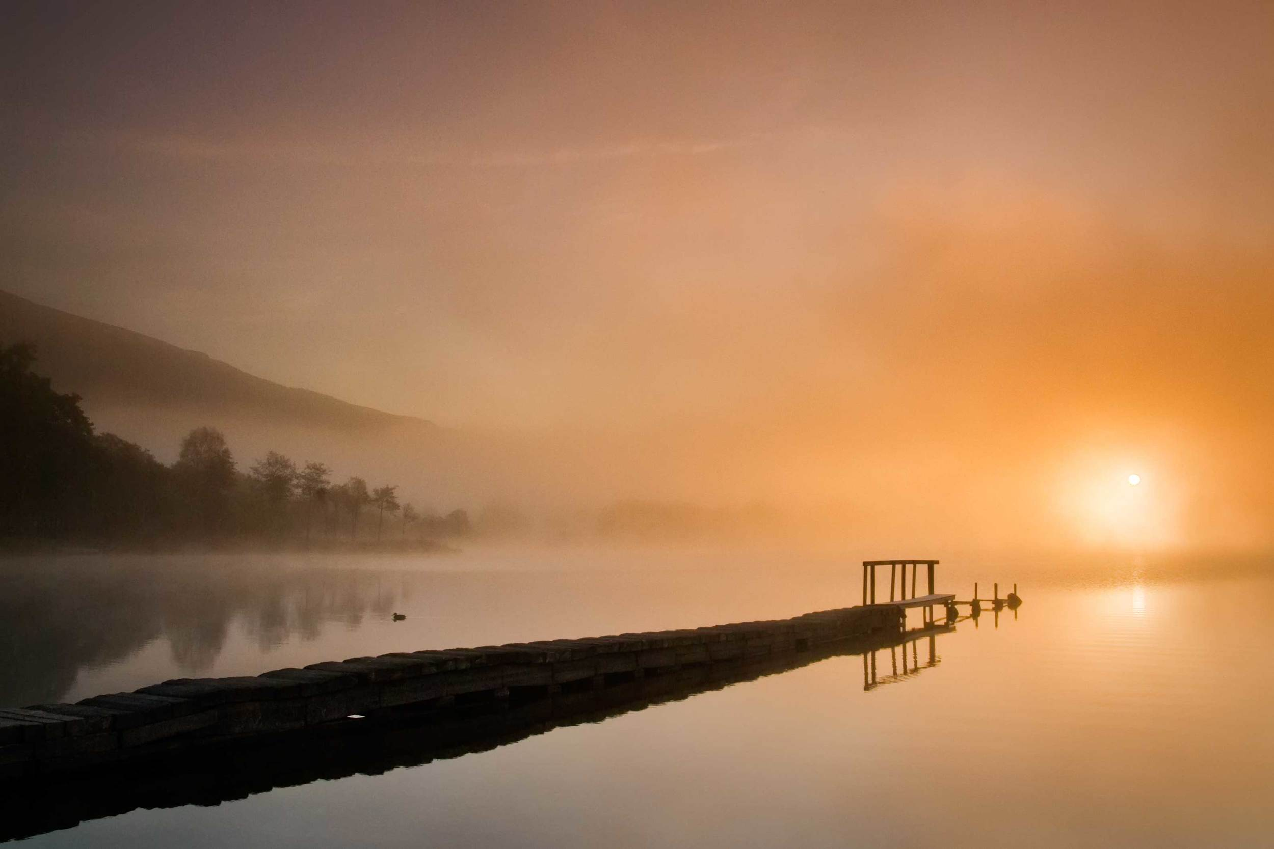 Sunrise over Loch Ard