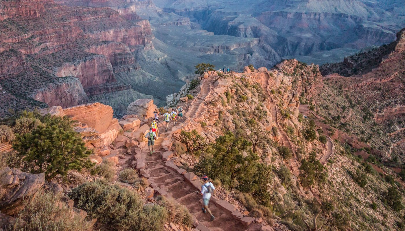 Why Runners Are Obsessed With the Grand Canyon R2R2R - One of the craziest speed records in ultrarunning takes athletes from the top of the canyon, down to the bottom, and then all the way back up again—twice.