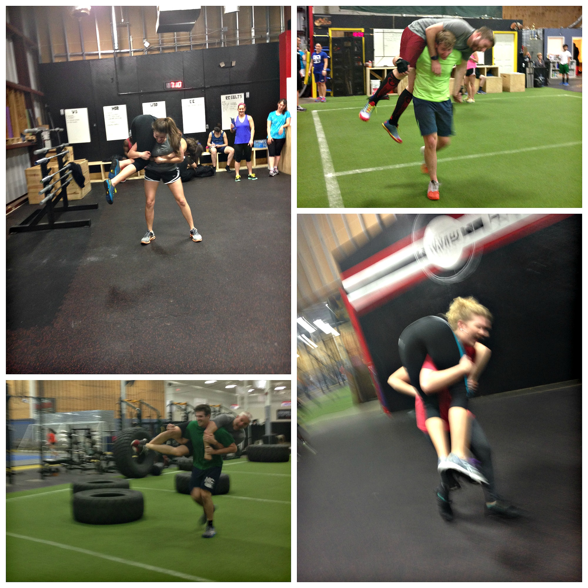 .... and so many more awesome carries we DIDN'T get pictures of on Tuesday night! Nice work, guys!