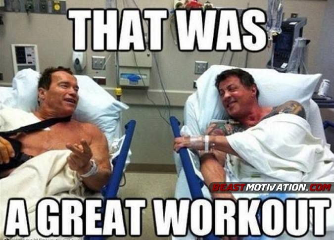 Anyone feeling this way after yesterday's Filthy Fifty? Nice work everyone!!