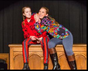 Emma Frazier (L), Abby Donaghue (R)