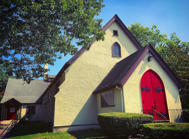 The historic All Saints/Drama Studio Springfield